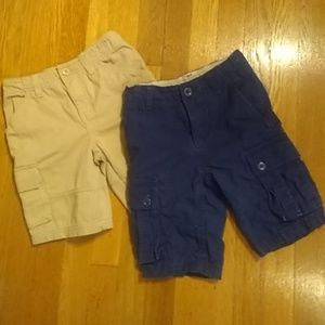 Pair Size 5 Cargo Shorts for Kids
